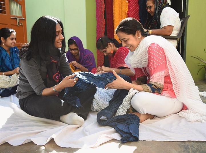Sunita Shanker -India からの布 ー春夏の衣ー