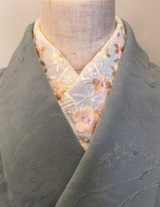 Kimono Salon基礎講座・半衿の付け替え