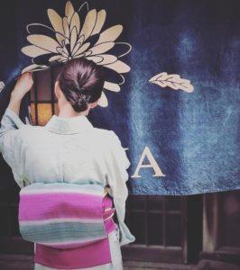 Kimono Salom 基礎講座【半衿の付け方】